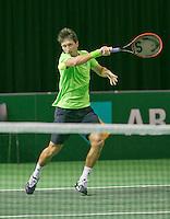08-02-14, Netherlands,RotterdamAhoy, ABNAMROWTT, Sergiy Stakhovsky (UKR)<br /> Photo:Tennisimages/Henk Koster