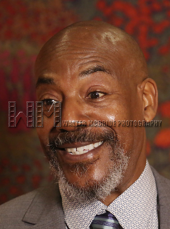 "John Earl Jelks attends the after party for the Broadway Opening Night of ""Sweat"" at Brasserie 8 1/2 on March 26, 2017 in New York City."