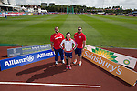 IPC European Athletics Championship 2014<br /> Swansea University<br /> L-R: Aled Davies, Stefanie Reid &amp; Dan Greaves.<br /> 18.08.14<br /> &copy;Steve Pope-SPORTINGWALES