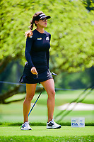 Belen Mozo (ESP) departs the 17th tee during Thursday's round 1 of the 2017 KPMG Women's PGA Championship, at Olympia Fields Country Club, Olympia Fields, Illinois. 6/29/2017.<br /> Picture: Golffile | Ken Murray<br /> <br /> <br /> All photo usage must carry mandatory copyright credit (&copy; Golffile | Ken Murray)