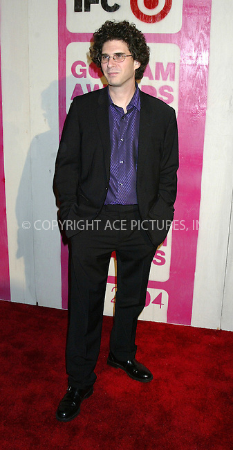 WWW.ACEPIXS.COM . . . . .  ....NEW YORK, DECEMBER 1, 2004....Josh Marston at the 14th Annual Gotham Awards presented by IFP/New York at Chelsea Piers. ....Please byline: Ian Wingfield - ACE PICTURES..... *** ***..Ace Pictures, Inc:  ..Alecsey Boldeskul (646) 267-6913 ..Philip Vaughan (646) 769-0430..e-mail: info@acepixs.com..web: http://www.acepixs.com