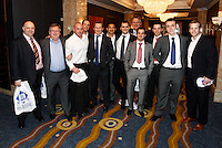 Photo: Richard Lane/Richard Lane Photography. .Serge Betsen Testimonial Dinner at the Hilton on Park Lane. 25/02/2011. Joe Ward group.