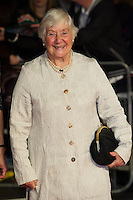 Shirley Williams arriving for a screening of 'Testament of Youth' during the 58th BFI London Film Festival at Odeon Leicester Square, London.  14/10/2014 Picture by: Dave Norton / Featureflash