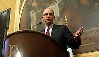 20130425 ROMA-POLITICA: GOVERNO, LETTA INCONTRA I RAPPRESENTANTI DEI GRUPPI PARLAMENTARI