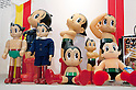 "September 5 2012, Japan - The Astro Boy products exhibit at Gift Show exhibition. The 74th Tokyo International Gift Show brings together 2,400 companies including from China, South Korea, Taiwan and Hong Kong displaying the latest gifts and daily life products, in the biggest international trade show at Tokyo Big Sight. This year the theme of the exhibition is ""Proposing 2012 Future-oriented Relaxation Gifts"". (Photo by Rodrigo Reyes Marin/AFLO)"