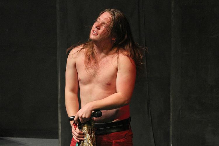 Tiggy Williams as Steve Tyler of Aerosmith