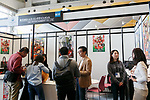 People attend the first day of AnimeJapan 2017 at Tokyo Big Sight on March 23, 2017, Tokyo, Japan. AnimeJapan 2017 is a trade show promoting ''Everything Anime'' to local and foreign fans and businesses. The show is held over four-day days with March 23-24 reserved for business visitors and March 25-26 for the public. It is expected to attract some 120,000 visitors, including many cosplayers. (Photo by Rodrigo Reyes Marin/AFLO)