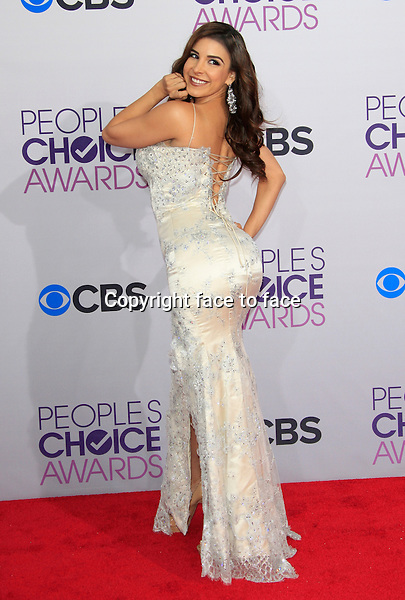 Mayra Veronica attending the 34th Annual People's Choice Awards at the Nokia Theatre in Los Angeles, California, January 9, 2013...Credit: Martin Smith/face to face