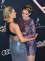 "LOS ANGELES, USA. November 12, 2019: Elizabeth Banks & Kristen Stewart at the world premiere of ""Charlie's Angels"" at the Regency Village Theatre.<br /> Picture: Paul Smith/Featureflash"