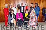 The models at the Fashion Extrazganza show in the Hotel Europe on Tuesday night Bernie McCarthy, Finola Long, Agne Krenemskieme back row l-r: Erica Dundom, Shirley Clifford, Sean O'Donoghue, Oonagh McGregor, Tim Kissane, Renata Szwedo, Siobhan Baston and Usher Titus