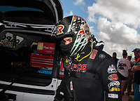 Oct 7, 2018; Ennis, TX, USA; NHRA top fuel driver Billy Torrence during the Fall Nationals at the Texas Motorplex. Mandatory Credit: Mark J. Rebilas-USA TODAY Sports