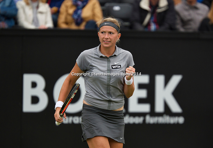 Netherlands, Den Bosch, 16.06.2014. Tennis, Topshelf Open,Michaella Krajicek (NED)<br /> Photo:Tennisimages/Henk Koster