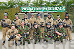 PAINTBALL: Friends took Jason Kelly ASrdfert to0 paintball games on Saturday to celebrate his 18th birthday. Front l-r: Dara O'Connort, Richard Kelly, Jason Kelly(birthday boy), Laura Rafferty and Jason Hobbert. Back l-r: Louis Wells, Thomas Clifford, Darcy O'Sullivan, Paul Dalton, James O'Connell, Darren Trustlove, Nicola Walsh and Sean O'Callaghan...