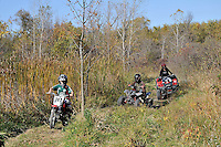 Off road motorcycles and mini bikers trail riding.  The Perch Creek Habitat Management Area is owned by the County of Lambton and managed by the Conservation Authority. This 200 acre property includes floodplain and upland forest, hedgerows, open meadow and wetlands. Over 5 km of trails takes the hiker through a variety of habitats. The Management Area is located on Churchill Line just east of Blackwell Rd. Facilities: parking lot.