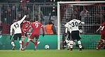 20.02.2018, Allianz Arena, M&uuml;nchen, GER, UEFA CL, FC Bayern M&uuml;nchen (GER) vs Besiktas Istanbul (TR) , im Bild<br />Thomas M&uuml;ller (M&uuml;nchen) erzielt das Tor zum 1:0<br /><br /><br /> Foto &copy; nordphoto / Bratic