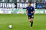 Waldhofs Jannik Sommer (Nr.20) am Ball beim Spiel in der Regionalliga Suedwest, SV Waldhof Mannheim - Kickers Offenbach.<br /> <br /> Foto &copy; PIX-Sportfotos *** Foto ist honorarpflichtig! *** Auf Anfrage in hoeherer Qualitaet/Aufloesung. Belegexemplar erbeten. Veroeffentlichung ausschliesslich fuer journalistisch-publizistische Zwecke. For editorial use only.