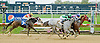 Gold on Gold winning at Delaware Park on 10/15/12
