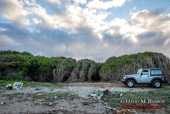Rental Jeep At Lae Hi Beach
