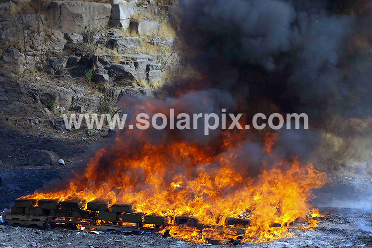 **ALL ROUND PICTURES FROM SOLARPIX.COM**                                             **WORLDWIDE SYNDICATION RIGHTS EXCEPT SPAIN & SOUTH AMERICA - NO SYNDICATION IN SPAIN OR SOUTH AMERICA**                                                                                  Caption: The Attorney General of the Republic in Jalisco, Mexico incinerate various drugs on the premises  of the Hunting Club Yard Sale, in the municipality of Zapopan, Mexico. 8 April 2011                                                                              This pic: Drugs incineration, Mexico                                                                                            JOB REF: 13128 MPA       DATE: 08_04_2011                                                           **MUST CREDIT SOLARPIX.COM OR DOUBLE FEE WILL BE CHARGED**                                                                      **MUST AGREE FEE BEFORE ONLINE USAGE**                               **CALL US ON: +34 952 811 768 or LOW RATE FROM UK 0844 617 7637**