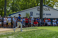 Thorbjorn Olesen (DEN) heads down 9 during 3rd round of the 100th PGA Championship at Bellerive Country Club, St. Louis, Missouri. 8/11/2018.<br /> Picture: Golffile | Ken Murray<br /> <br /> All photo usage must carry mandatory copyright credit (&copy; Golffile | Ken Murray)