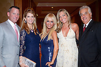 Dr. Sharon MacIvor, John Walter Cross, IV, Irene Korge, and Jacqueline Arango attend The Boys and Girls Club of Miami Wild About Kids 2012 Gala at The Four Seasons, Miami, FL on October 20, 2012
