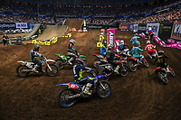 SX 2 / starting action<br /> 2018 SX Open - Sydney <br /> Australian Supercross Championships<br /> Qudos Bank Area / Sydney Aus<br /> Saturday Nov 10th 2018<br /> © Sport the library/ Jeff Crow / AME