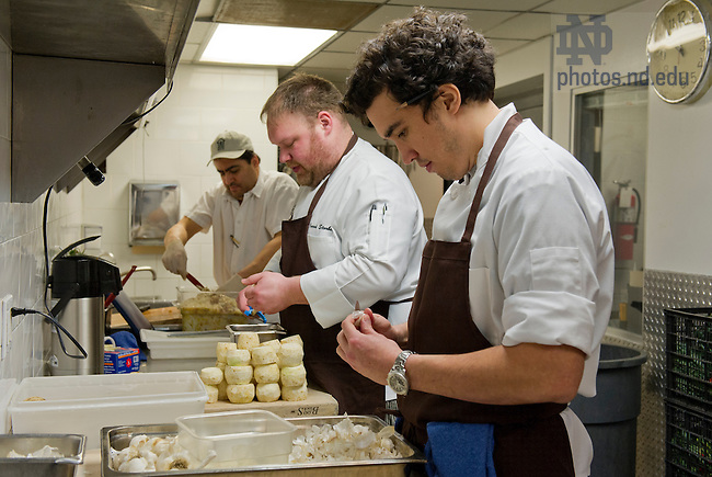 Mar. 8, 2013; 2013 Chef, Erling Wu Bower at Avec  in Chicago. Photo by Barbara Johnston/University of Notre Dame