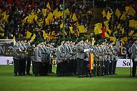 Musikcorps der Bundeswehr - 08.10.2017: Deutschland vs. Asabaidschan, WM-Qualifikation Spiel 10, Betzenberg Kaiserslautern