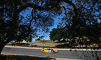 May 17, 2009: The #60 Ford Riley of Mark Patterson and Oswaldo Negri races past some trees at  the Verizon Festival of Speed Grand-Am Rolex Series race at LMazda Raceway at Laguna Seca  in Salinas, CA. (Photo by Brian Cleary/www.bcpix.com)