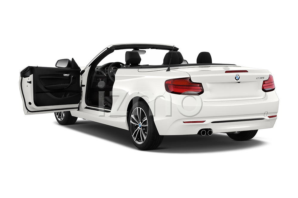 Car images close up view of a 2018 BMW 2 Series Sport 2 Door Convertible doors