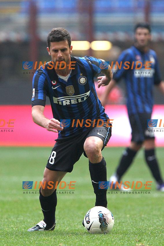 Thiago Motta Inter.Milano 23/10/2011 Stadio S.Siro.Football Calcio Serie A 2011-12.Inter vs Chievo .Foto Insidefoto Paolo Nucci