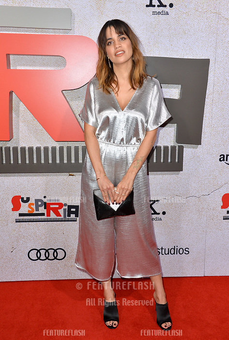 """LOS ANGELES, CA. October 24, 2018: Natalie Morales at the Los Angeles premiere for """"Suspiria"""" at the Cinerama Dome.<br /> Picture: Paul Smith/Featureflash"""