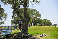 Nelly Korda (USA) enjoys some shade as she waits to head to the tee on 8 during round 1 of the 2019 US Women's Open, Charleston Country Club, Charleston, South Carolina,  USA. 5/30/2019.<br /> Picture: Golffile | Ken Murray<br /> <br /> All photo usage must carry mandatory copyright credit (© Golffile | Ken Murray)