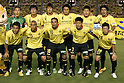 Kashiwa Reysol team group line-up,JULY 23, 2011 - Football :Kashiwa Reysol team group shot (Top row - L to R) Takanori Sugeno, Park Dong-Hyuk, Hiroki Sakai, Hideaki Kitajima, Naoya Kondo, Masato Kuda, (Bottom row - L to R) Takanori Nakajima, Jorge Wagner, Leandro Domingues, Hidekazu Otani and Ryoichi Kurisawa before the 2011 J.League Division 1 match between between Kashiwa Reysol 2-1 Kashima Antlers at National Stadium in Tokyo, Japan. (Photo by AFLO)