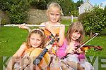 MUSICAL KIDS: An art, music and drama summer camp kept children in Kilflynn entertained last week. Pictured were: Maeve Trant, Orla Buttimer, Roisin Corridan, Geraldine Knott, Rachel Foley and Rebecca Comasney.