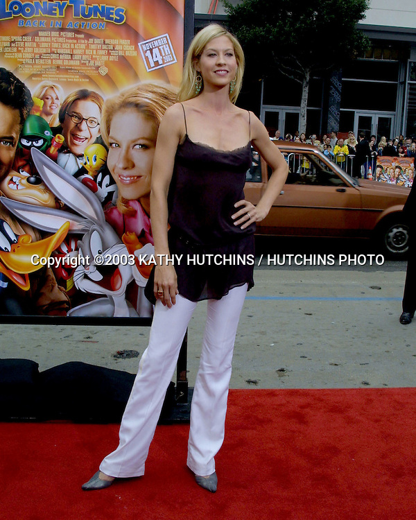 "©2003 KATHY HUTCHINS / HUTCHINS PHOTO.""LOONEY TUNES:  BACK IN ACTION"" PREMIERE.HOLLYWOOD, CA.NOVEMBER 9, 2003.. JENNA  ELFMAN"