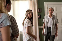 TAISSA FARMIGA as Ginny and CLINT EASTWOOD as Earl Stone<br /> The Mule (2018) <br /> *Filmstill - Editorial Use Only*<br /> CAP/RFS<br /> Image supplied by Capital Pictures