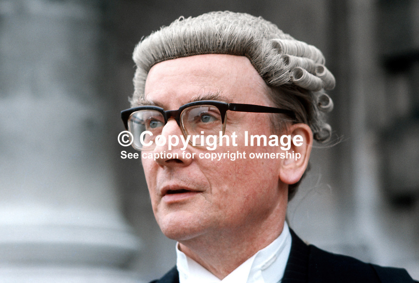 Eric William Hunter Christie, barrister, N Ireland, UK, 197505000268a.<br />