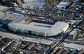 09/01/2010  Blackpool & Fylde Coast Aerial snow views..Blackpool FC....© Phill Heywood.