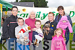 DOG FUN: Having a great time at the Family Fun Day Dog Show in aid St Bridget's Community Centre at Marian Park, Tralee on Thursday l-r: Sonnya O'Brien, Patrick O'Brien, Cis O'Connor (dog show judge), Tristen Kirwan, Dale Houlihan, Sabrina Kirwan, Kayla Kirwan and Alanna Houlihan.