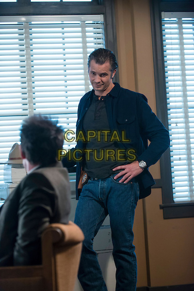 Timothy Olyphant<br /> in Justified (Season 4, Episode 6, &quot;Foot Chase&quot;)<br /> *Filmstill - Editorial Use Only*<br /> CAP/NFS<br /> Supplied by Capital Pictures
