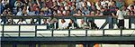 TV and radio commentators gantry at Ibrox, 1994