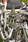 custom motorcycle engine .Harley Davidson chopper