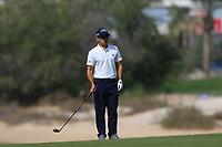 Fabrizio Zanotti (PAR) on the 3rd during Round 3 of the Omega Dubai Desert Classic, Emirates Golf Club, Dubai,  United Arab Emirates. 26/01/2019<br /> Picture: Golffile | Thos Caffrey<br /> <br /> <br /> All photo usage must carry mandatory copyright credit (© Golffile | Thos Caffrey)