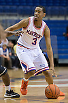 Texas-Arlington Mavericks guard Jamel Outler (3) in action during the game between the Idaho Vandals and the Texas Arlington Mavericks at the College Park Center arena in Arlington, Texas. Idaho defeats Arlington 77 to 64....