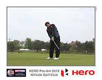 Playing with Ryan Fox (NZL) on the 10th tee during the Pro-Am of the Betfred British Masters 2019 at Hillside Golf Club, Southport, Lancashire, England. 08/05/19<br /> <br /> Picture: Thos Caffrey / Golffile<br /> <br /> All photos usage must carry mandatory copyright credit (© Golffile | Thos Caffrey)