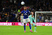 Leandro Bacuna of Cardiff City in action during the Sky Bet Championship match between Cardiff City and Queens Park Rangers at the Cardiff City Stadium in Cardiff, Wales, UK. Wednesday 02 October, 2019
