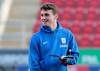 Preston North End's Ryan Ledson inspects the pitch before kick off<br /> <br /> Photographer David Shipman/CameraSport<br /> <br /> The EFL Sky Bet Championship - Rotherham United v Preston North End - Tuesday 1st January 2019 - New York Stadium - Rotherham<br /> <br /> World Copyright © 2019 CameraSport. All rights reserved. 43 Linden Ave. Countesthorpe. Leicester. England. LE8 5PG - Tel: +44 (0) 116 277 4147 - admin@camerasport.com - www.camerasport.com