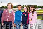 Mary Mahony, Dirren Thomas, Grace Fitzmorris and Fiona Kerdzaia from Abbeydorney enjoying THE 'Friends Of Kerry General Hospital Benefit Night at the Kingdom Greyhound stadium on Friday