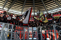 Milan fans cheer on ahead the Serie A 2018/2019 football match between Frosinone and AC Milan at stadio Benito Stirpe, Frosinone, December, 26, 2018 <br />  Foto Andrea Staccioli / Insidefoto